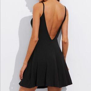 SHEIN Dresses - BNWT Open Low Back Cami Dress
